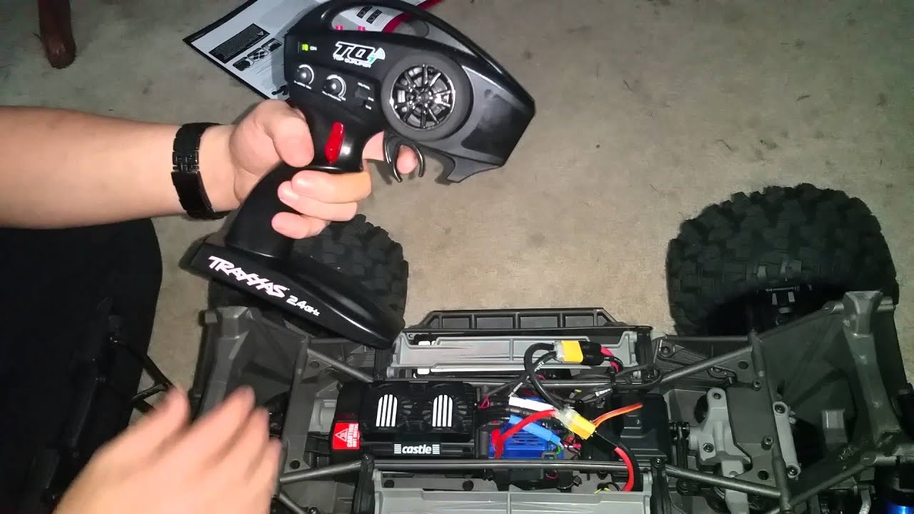 hight resolution of traxxas x maxx esc calibration and programming