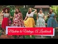 Modern to Vintage: a lookbook | how to make modern clothes look retro