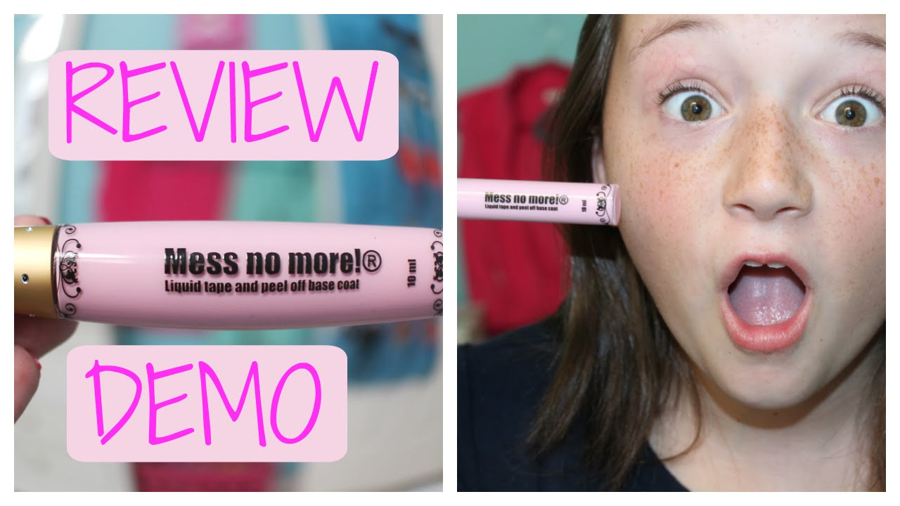 Mess No More Nail Tape Review + Demo!! - YouTube