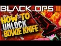 "HOW TO GET ""BOWIE KNIFE"" In Black Ops 3 Custom Games - BO3 How To Play & USE BOWIE KNIFE For FREE"