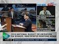 NTG: 2019 national budget deliberation sa Senado, magtatapos ngayong araw