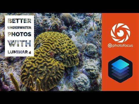 Better underwater photos with Luminar 4