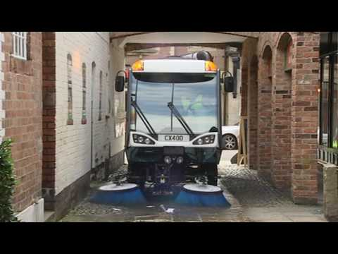 Johnston Sweepers C400 Mid-Sized Sweeper