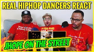 Baixar REAL Hip Hop DANCERS REACT to JHOPE 'HOPE on the STREET' Dance Compilation!!!!!!