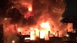 НОВОСТИ РОССИИ: В Москве произошел крупнейший за 25 лет пожар