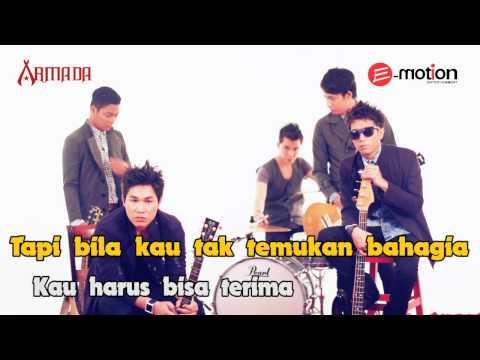 Armada - Kau Harus Terima with lirik/lyric (karaoke)