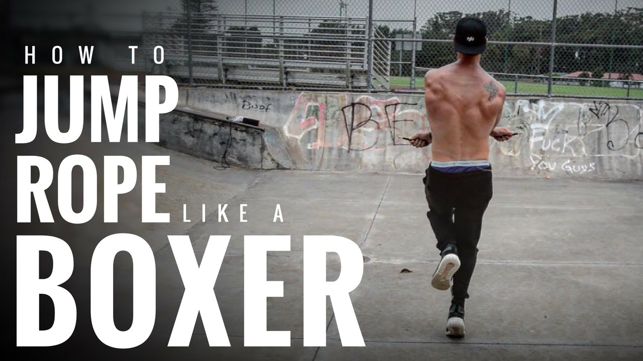 How To Jump Rope Like A Boxer