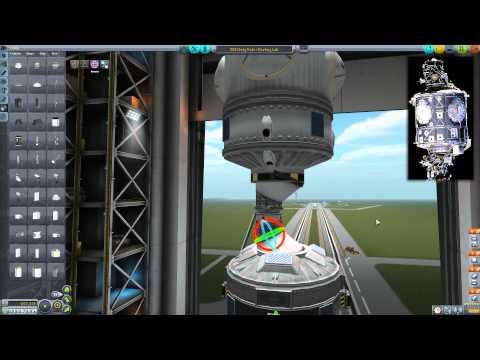 KSP: Operation Vanilla Ep. 36 - ISS - Unity Node