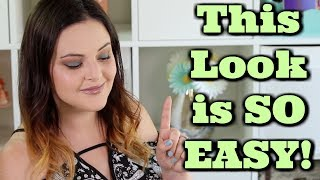 Change Your WHOLE Eye Look in 1 STEP! Every Day People Tutorial!  | Jen Luvs Reviews