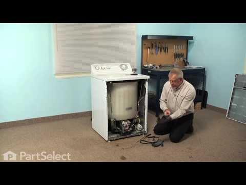 Washing Machine Repair - Replacing The Drive Belt (GE Part # WH01X10302)