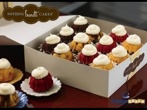 Nothing Bundt Cakes Bundtini Size