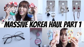 MASSIVE KOREA HAUL with PRICES! MAKEUP, BTS, ACCESSORIES, EARRINGS + MORE!!
