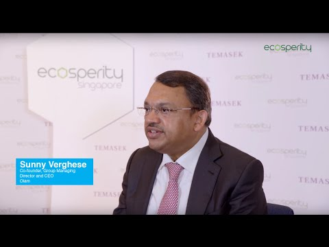 Ecosperity 2015: Interview with Sunny Verghese,  Co-founder, Group Managing Director and CEO, Olam