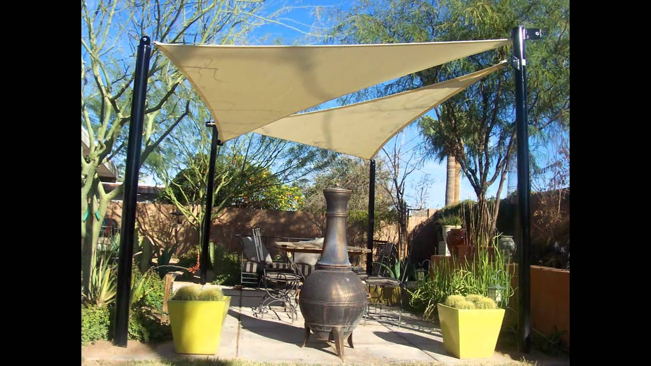 Shade sails in phoenix arizona by shade masters youtube for Shadesails com