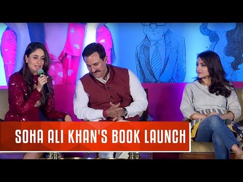 Soha Ali Khan's Book Launch | The Perils of Being Moderately Famous |  Kareena Kapoor, Saif Ali Khan