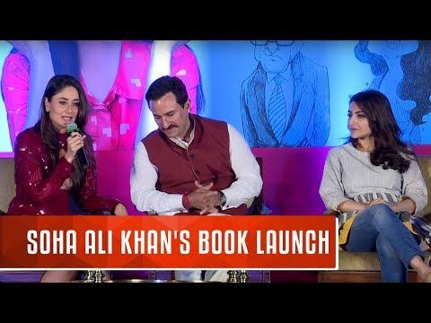 Soha Ali Khan's Book Launch | The Perils of Being Moderately Famous |  Kareena Kapoor, Saif Ali Khan
