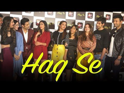 Haq Se Web Series Trailer launch Full Video | Rajeev Khandelwal