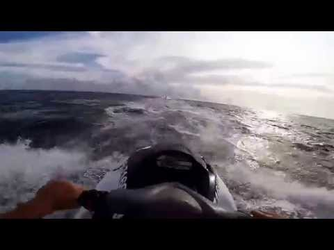 Jet skiing in Panama City