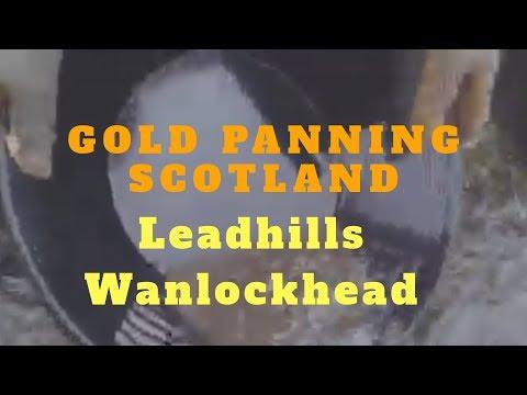Gold Panning Scotland Leadhills/wanlockhead