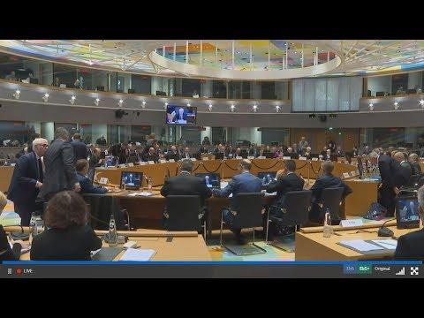 Σύνοδος των υπουργών Εξωτερικών της ΕΕ  στις Βρυξέλλες