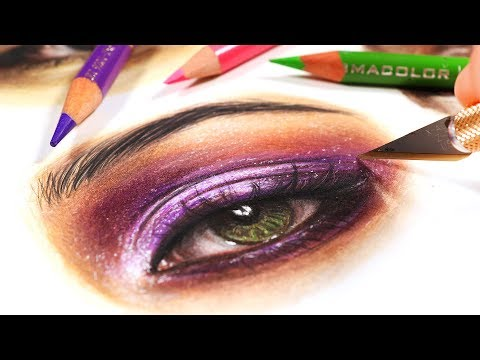 EASY TRICK FOR COLORED PENCIL DRAWINGS thumbnail