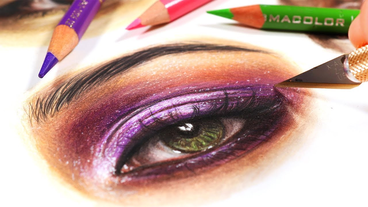 EASY TRICK FOR COLORED PENCIL DRAWINGS - YouTube