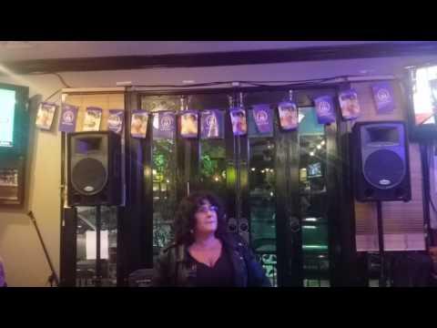 Carol @ karaoke April 2017