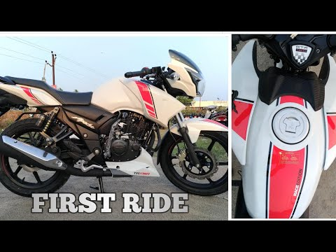 TVS APACHE RTR 160 RACE EDITION FIRST RIDE REVIEW!