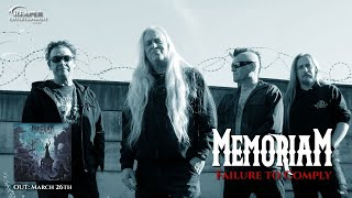 Memoriam - Failure To Comply (OFFICIAL LYRIC VIDEO)