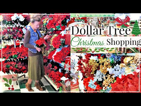 DOLLAR TREE CHRISTMAS SHOP WITH ME 2018 | CHRISTMAS DECOR HOME DECORATIONS SHOPPING