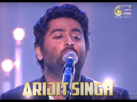 India's best singer on his highest note   Arijit Singh   Gima Awards 2016