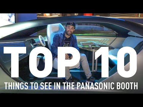 Don't Miss These 10 Must-See Panasonic Technologies at CES 2017