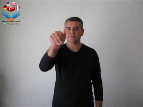 Çağrı - işaret dili