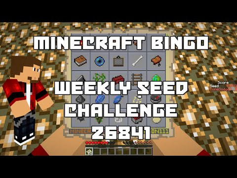 Minecraft Bingo Weekly Challenge: 26841