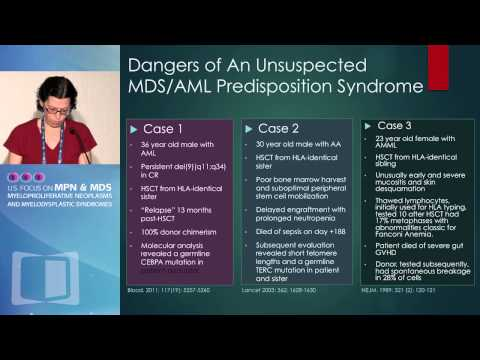 Predisposition to MPN and MDS: Pertinent Family History, Genetic Testing and Counseling