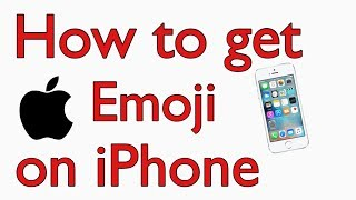 Gambar cover How to get  logo Emoji on iPhone/iPad