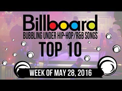 Top 10 - Billboard Bubbling Under Hip-Hop/R&B Songs   Week of May 28, 2016