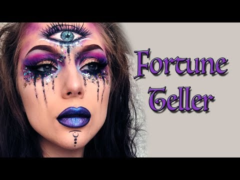 Fortune Teller Halloween Makeup Tutorial