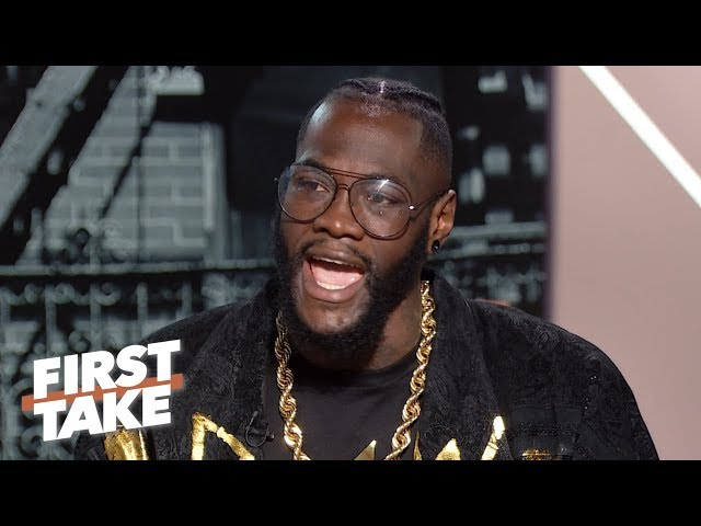 I dont care about losing ... Im building for legacy - Deontay Wilder   First Take