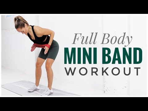 Full Body Mini RESISTANCE BAND Workout