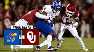 Kansas vs. Oklahoma Football Highlights (2018) | Stadium