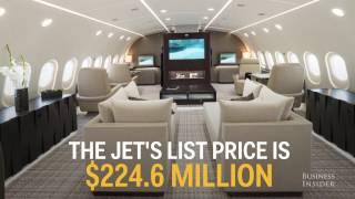 Business Insider Kestrel Curated BBJ 787