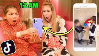 REACTING TO TXUNAMY'S TIK TOKS AT 12AM!!! **Bad Idea**