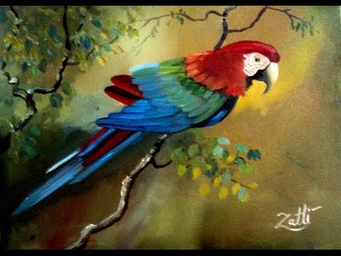 Como pintar uma arara youtube for Pinturas para pintar
