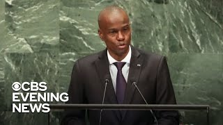 Haitian president assassinated in attack at his home