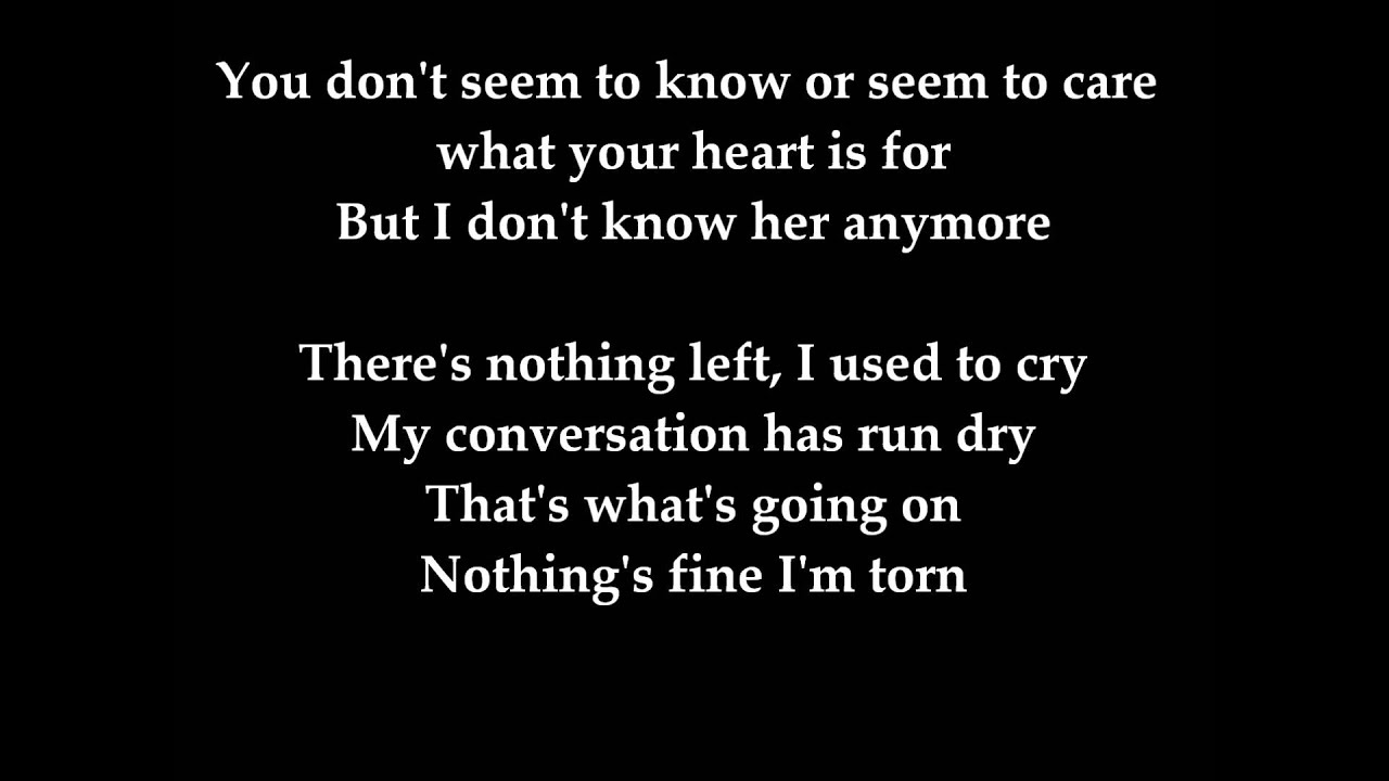 One Direction - Torn - With Lyrics