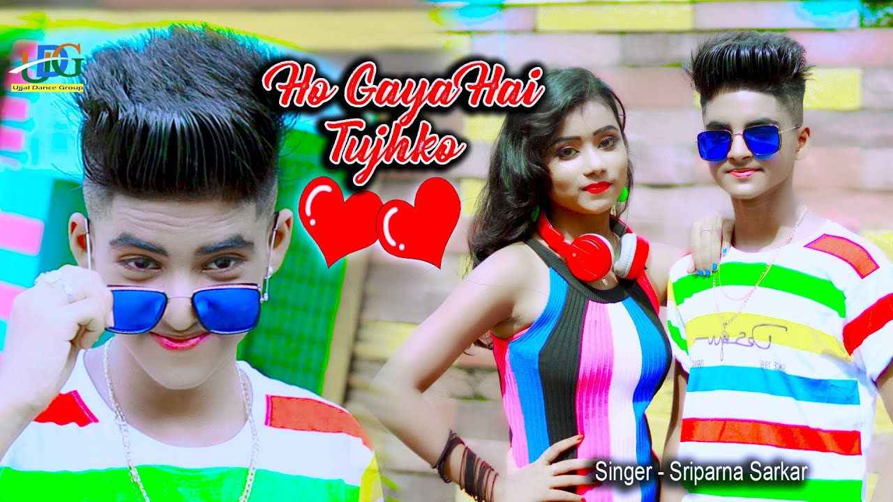 Download Ho Gaya Hai Tujhko To Pyar Sajna💕 Cute Love Story💕 Latest Hindi Songs💖Rupsa Rick 🌴 Ujjal Dance Group