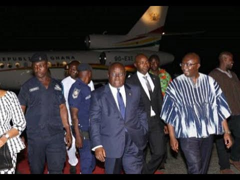 UN General Assembly: President Akufo-Addo returns home from USA