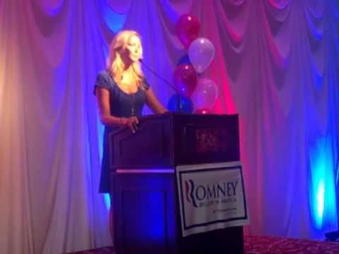 Amy Jacobson-Women for Romney Rally