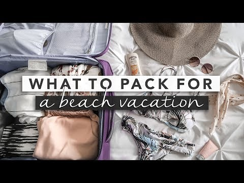 Pack With Me! Suitcase + Carry On for Beach Vacation